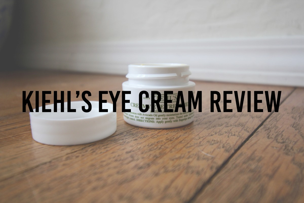 Kiehl's Eye Cream Review